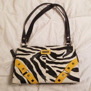 Zoe Yellow Zebra Print Shell for Classic Miche